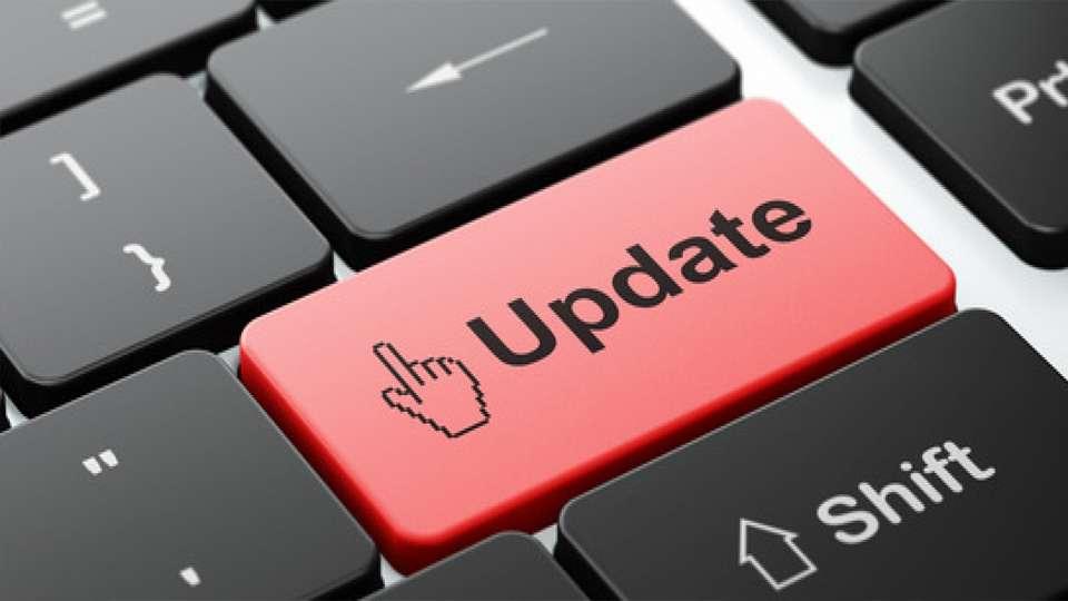 Web updates